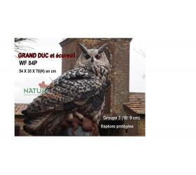Cible 3D NATURFOAM Grabnd Duc et sa Proie