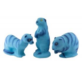 3D PANDORA FAMILYPACK MINK-MUSKUSRAT-PRAIRIE DOG