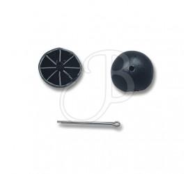 Silencieux Brush Button