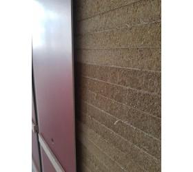 Mur de tir avec élargisseur bandes paille