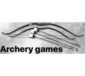 Kit UNIVERSAL ARCHERY pour l'Archery Games (1 arc + 3 Flèches)