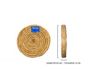 Cible ronde en PAILLE TRESSE EGERTEC dia. 85 cm 10 cm d'epaisseur