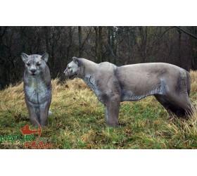 Cible 3D NATURFOAM  Puma...