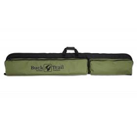 Housse RECURVE BUCK TRAIL160CM x 27CM BLACK / GREEN with ARROW POCKET