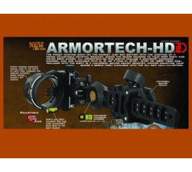 "ARMORTECH HD PRO / EXT 6""/ 5 PIN .010"" BLACK"